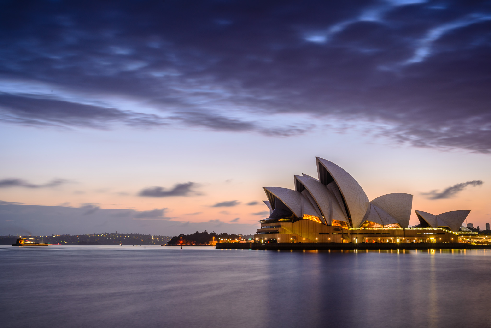 Sunset at Sydney Opera House, Sydney